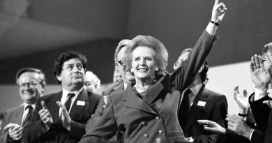 Margaret Thatcher./ lanacion.com.ar