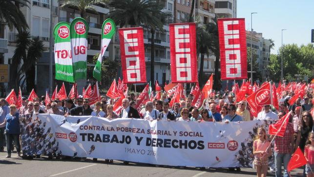 Manifestación 1º de mayo./ Facebook.com/pg/ugt.es