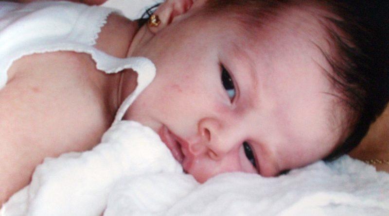 Una bebé./ @MLPARRAGARCIA