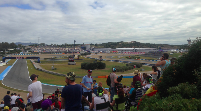 Interior del Circuito de Jerez en el MotoGP 2016./ @MLPARRAGARCIA