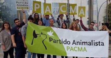 Manifestación de 2010 en Tordesillas. / PACMA.