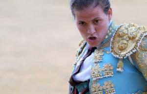 Sandra Moscoso, torera jerezana./ Eva Morales