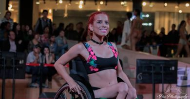 Pao Bonnet, modelo con discapacidad.