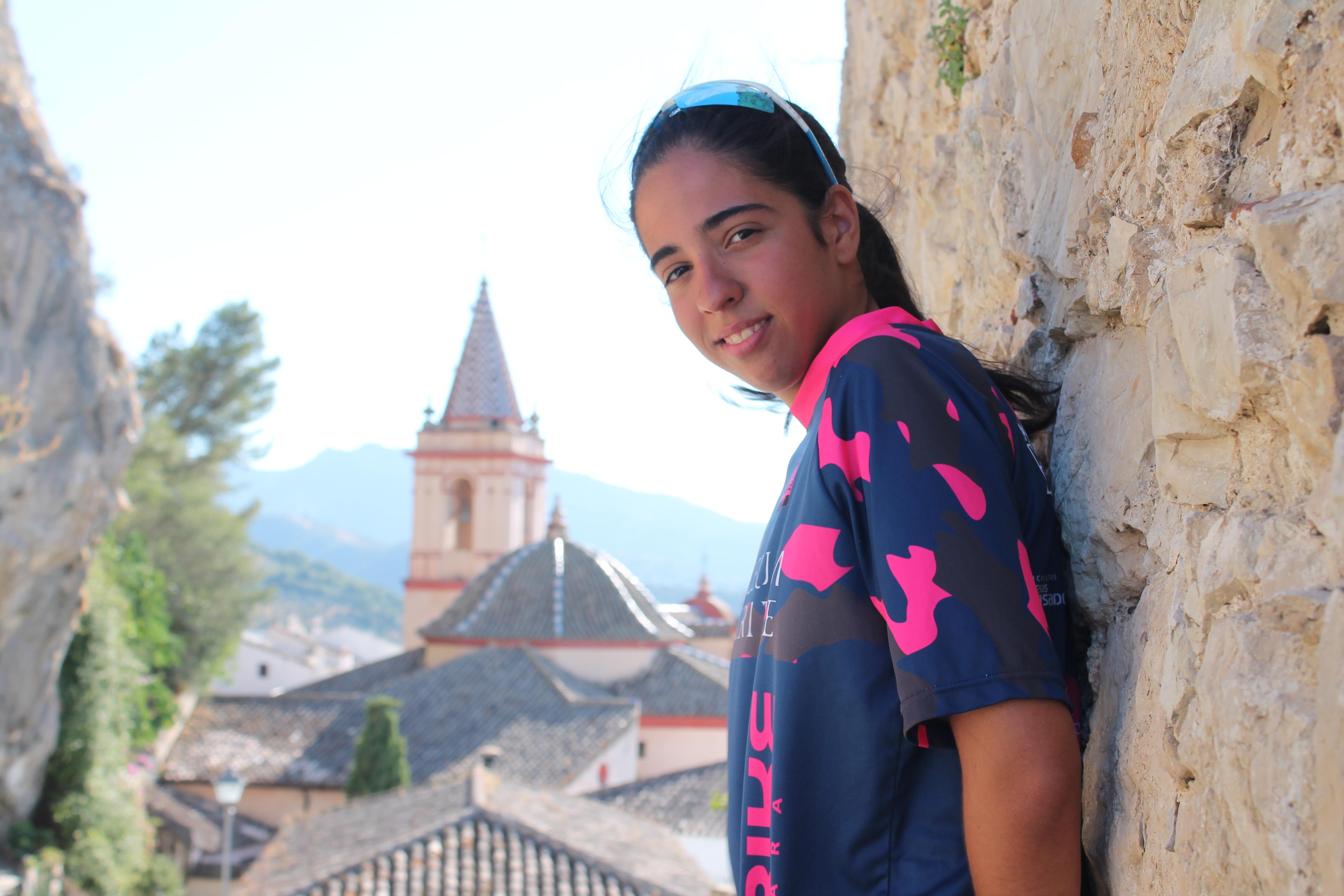 Teresa Palma, zahareña que ha superado una discapacidad gracias al deporte./ J.A.M.