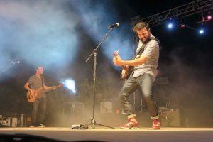 Huecco, en concierto.: Antonio Fernández
