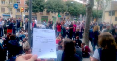 Una de las papeletas de la votación del 1 de octubre./ Cedida