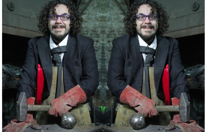 Falín Galán, payaso y profesor de la escuela de clown 'Botarate'./ Cedida