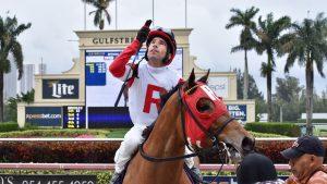 Antonio Gallardo, jockey jerezano que triunfa en Estados Unidos./ Cedida