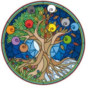 Emblema Quercus Vitae (El roble de la vida)