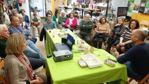 Encuentro del equipo de voluntariado de Oxfam Intermón Jerez./ Cedida