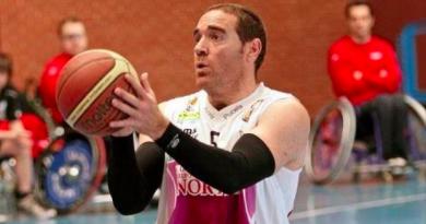 Diego de, Paz, ex jugador de baloncesto en silla de ruedas./ Cedida