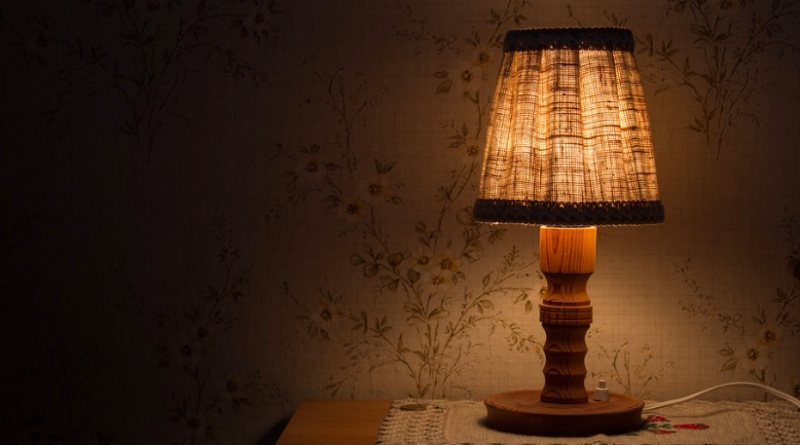 Subida de la luz, lámpara